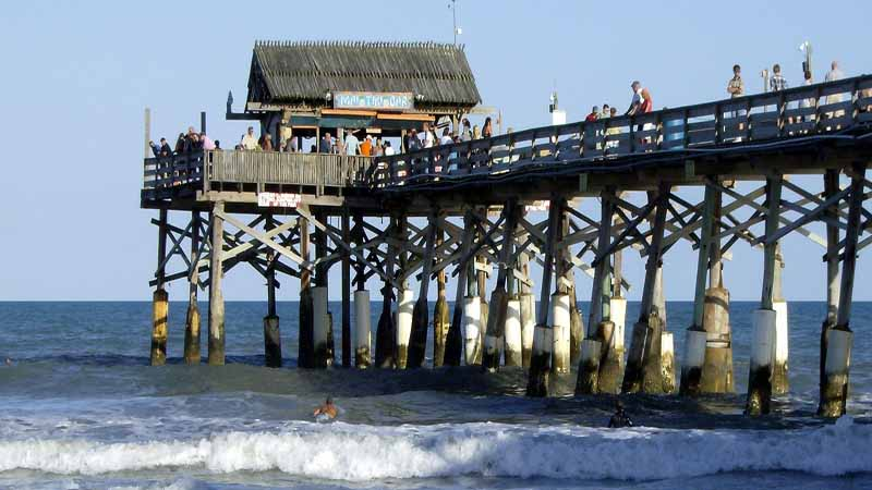 Fishing on the Cocoa Beach Pier