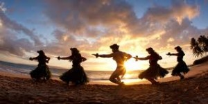 Hawaiian dance image