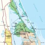 Merritt Island National Refuge Map